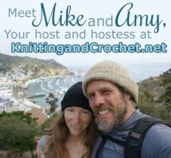 Mike and Amy from Knitting and Crochet