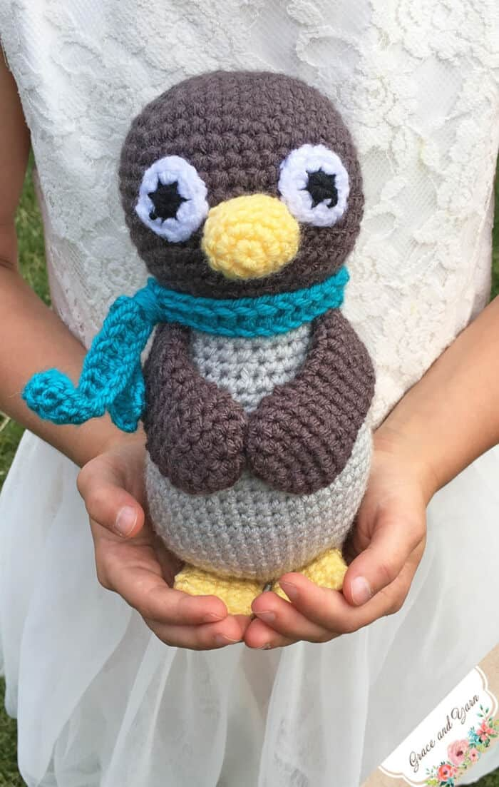 Amigurumi Penguin by Grace and Yarn