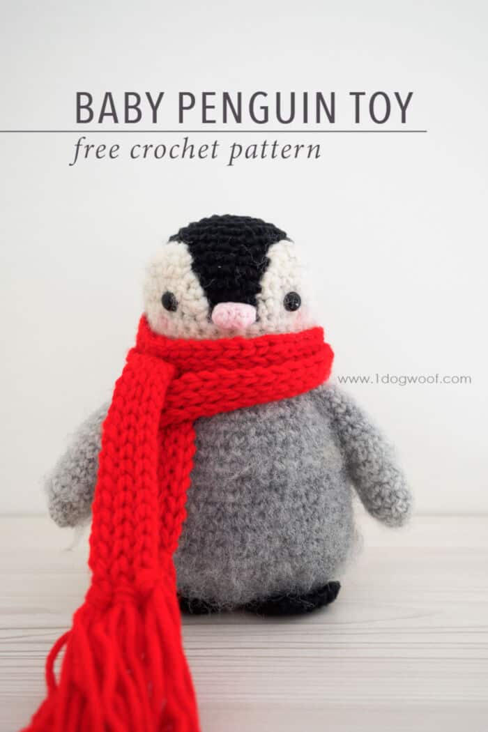 Baby Penguin Amigurumi Toy by One Dog Woof