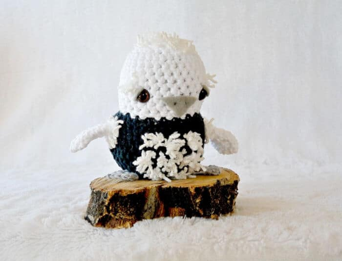 Crochet Baby Penguin by Mama In A Stitch