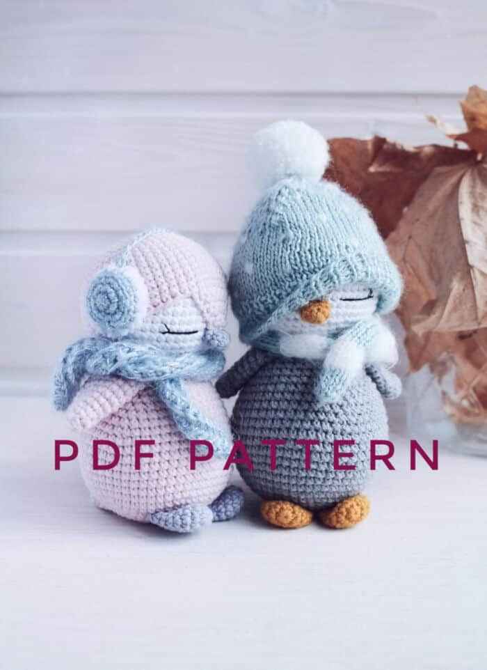 Crochet Penguins Pattern by Etsy