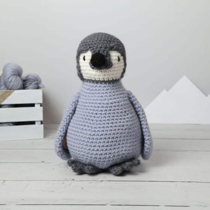 Mr Penguin Giant Crochet Kit by Etsy