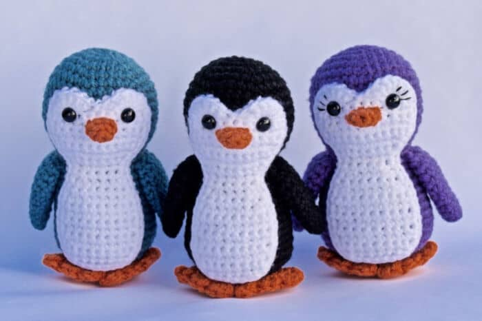 Penguin Crochet Pattern by Etsy