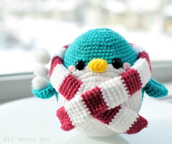 Snuggles the Penguin by All About Ami