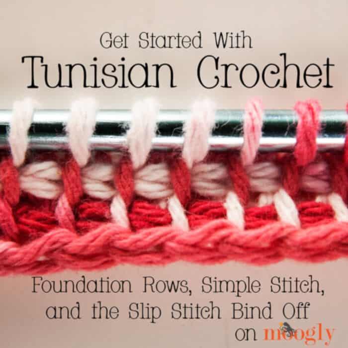 Tunisian Crochet by Moogly