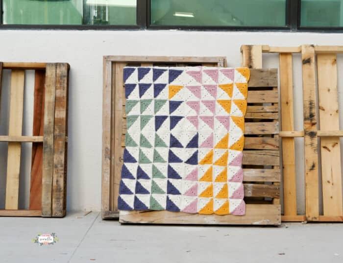Crochet-Kaleidoscope-Baby-Blanket-by-Sewrella