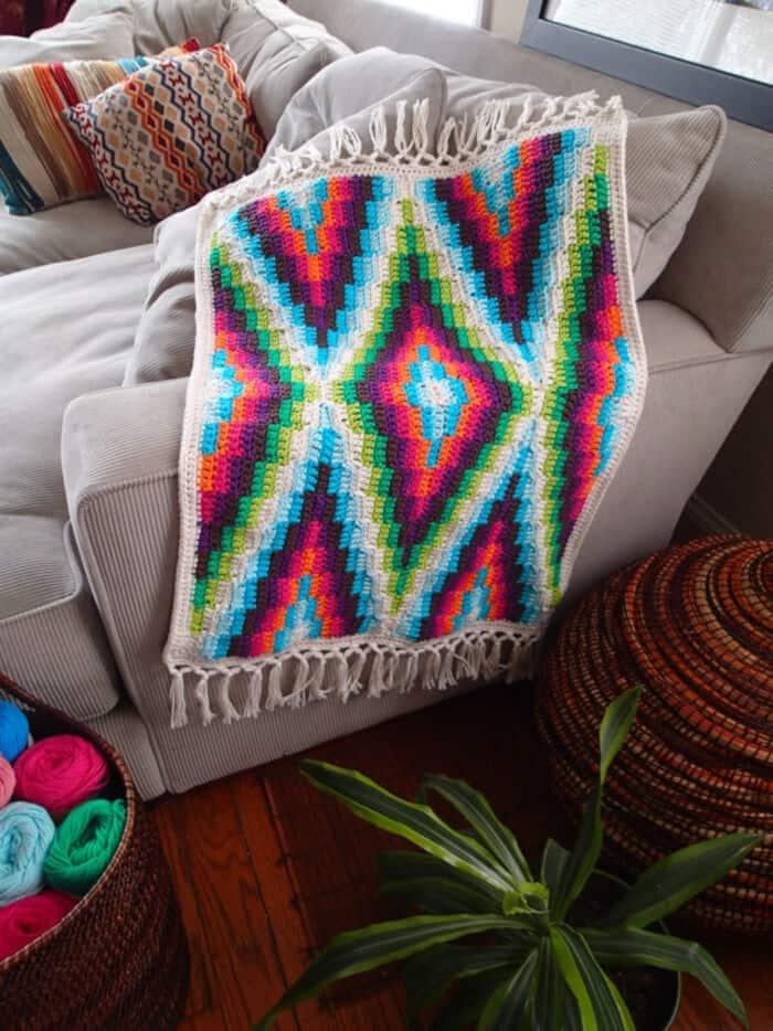 Modern-Bohemian-Baby-Blanket-Crochet-by-Etsy
