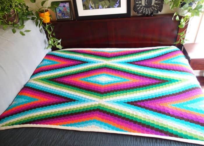 Modern-Bohemian-Blanket-Crochet-Pattern-by-Etsy