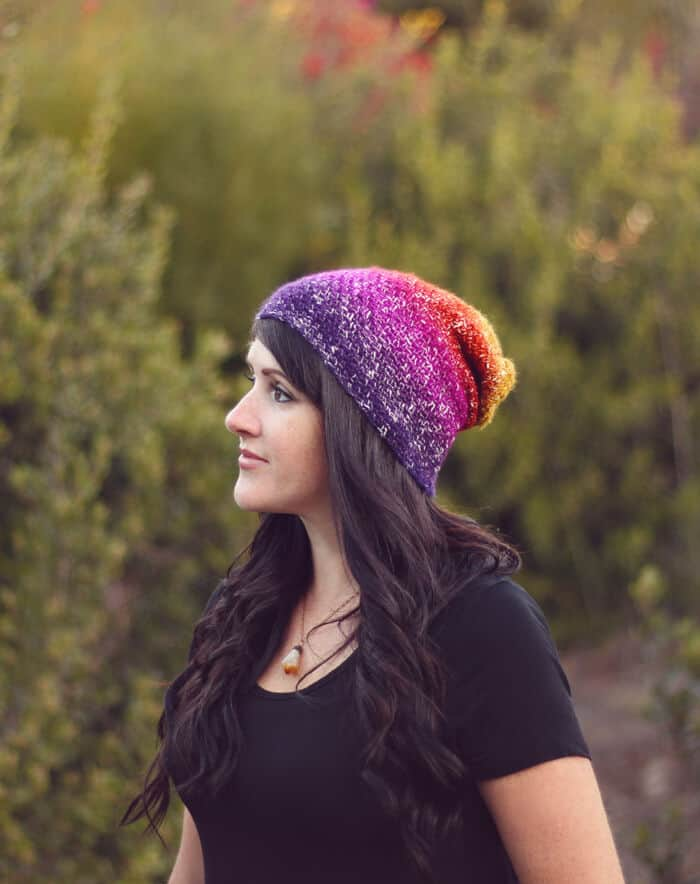Ombré-Slouchy-Beanie-Free-Crochet-Pattern-by-Gleeful-Things