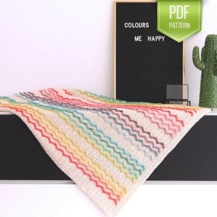 Rainbow-Blanket-by-Etsy