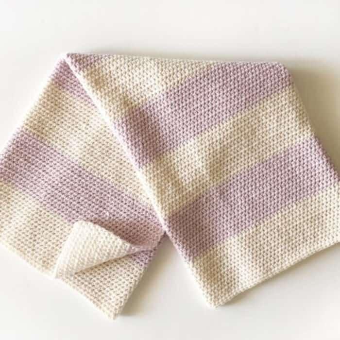 Simple-Crochet-Baby-Blanket-by-Daisy-Farm-Crafts
