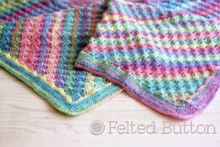 Spring-into-Summer-with-a-FREE-Crochet-Blanket-Pattern-by-Felted-Button