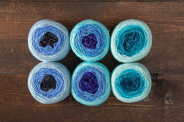Aquatic Stroll Gradient Duos Value Pack We Crochet