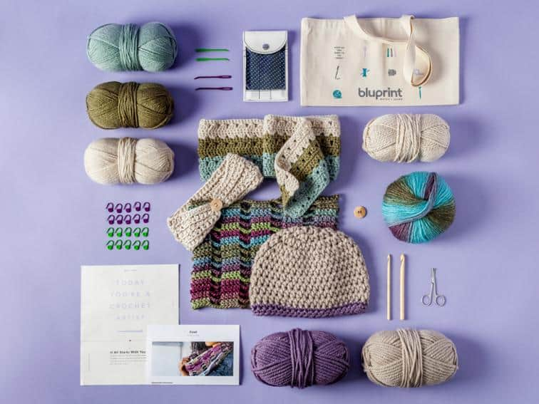 Bluprint Crochet Kit