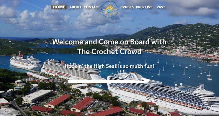 Take a Crochet Cruise With Crochet Cruises
