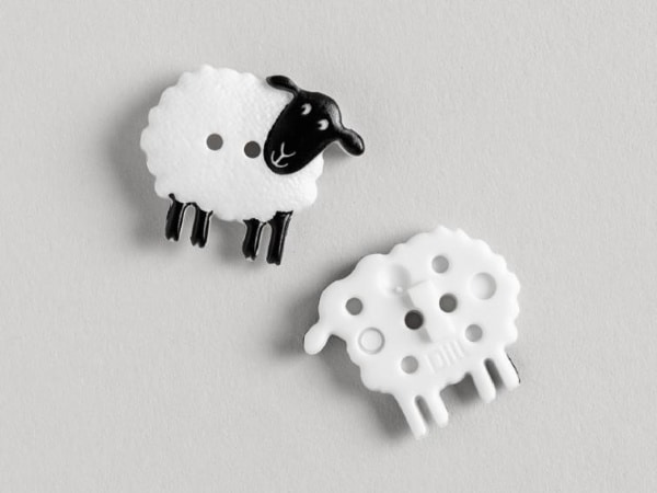Dill Sheep Buttons from Bluprint