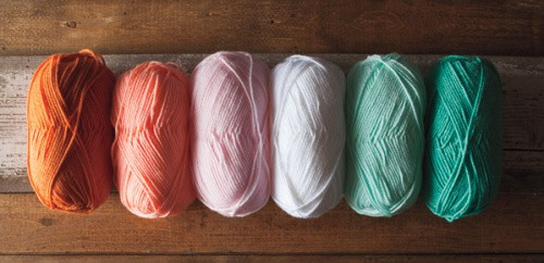 We Crochet 100% Acrylic Brava yarn