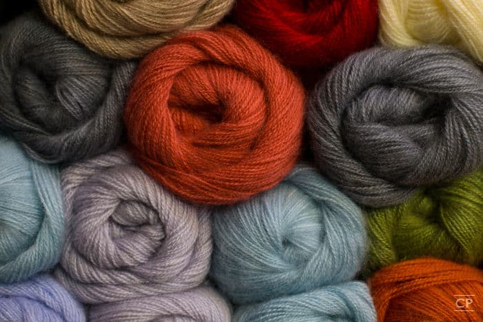 Lots of soft and lofty yarns