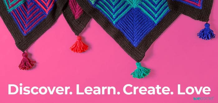 Do more of what you love with inspiration from We Crochet.