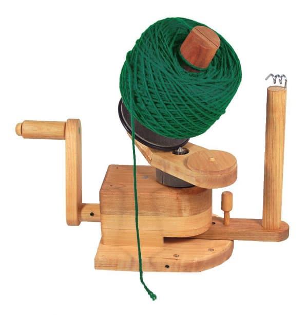 Halcyon Yarn Heavy Duty Wooden Ball Winder