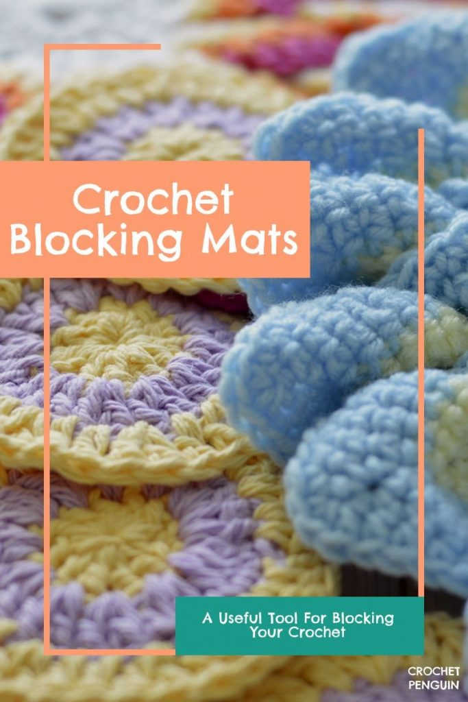 Crochet Blocking Mats Pin
