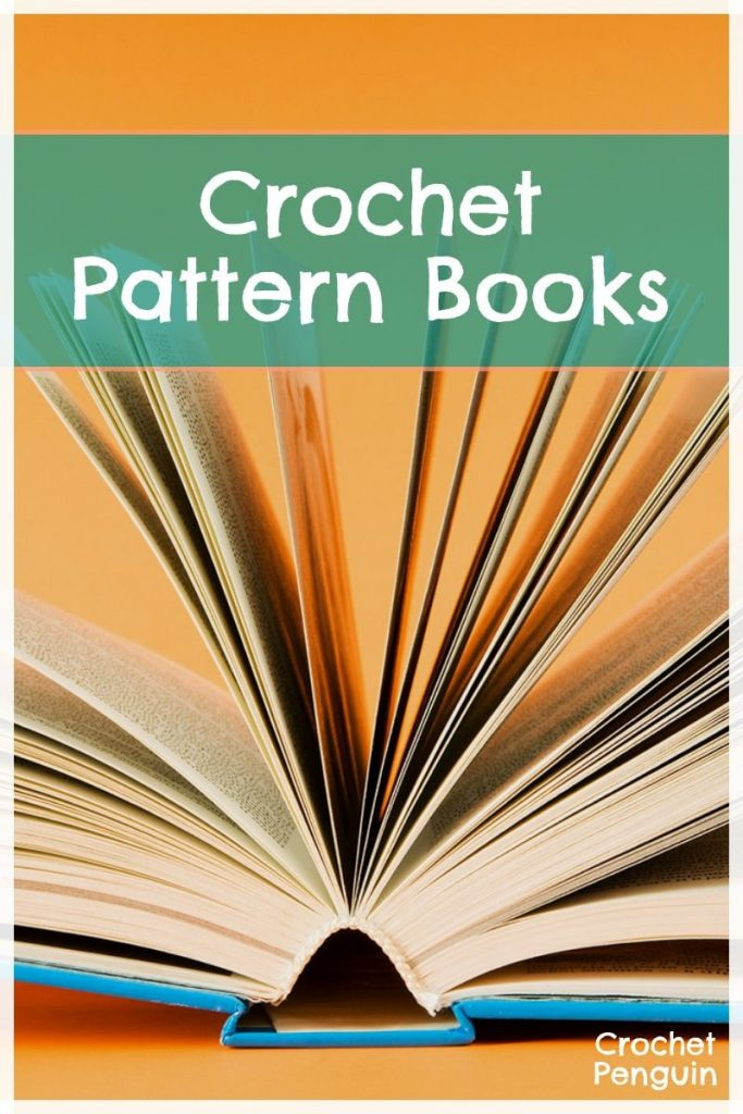 Crochet Pattern Books Pin