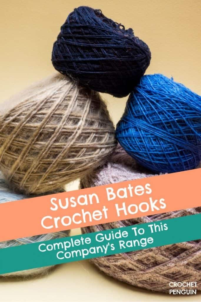 Susan Bates Crochet Hooks Pin