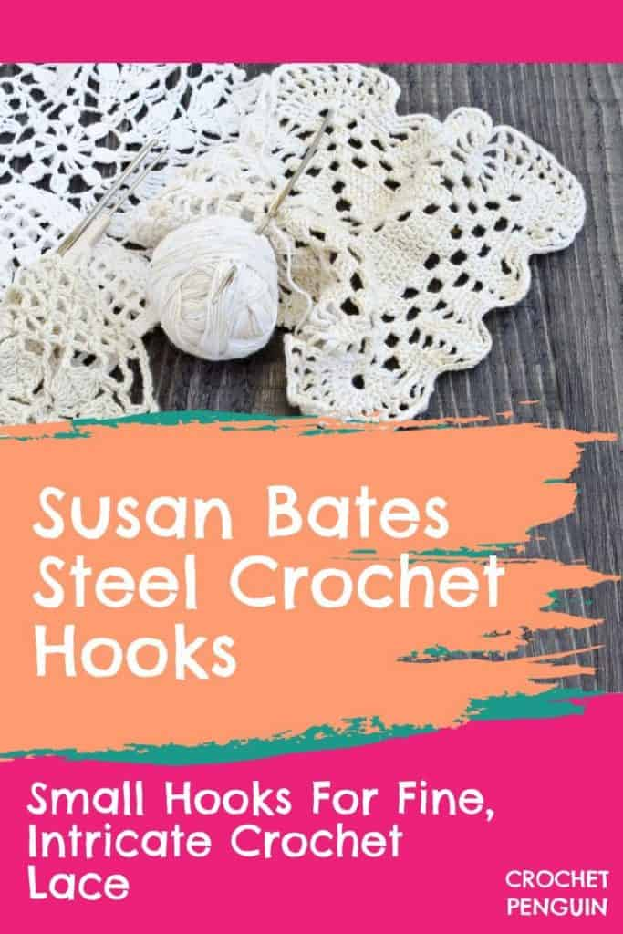 Susan Bates Steel Crochet Hook Pin