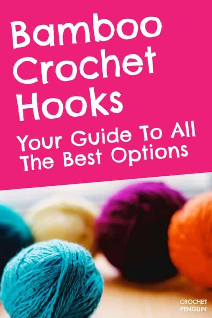 Bamboo Crocheting Hooks Pin
