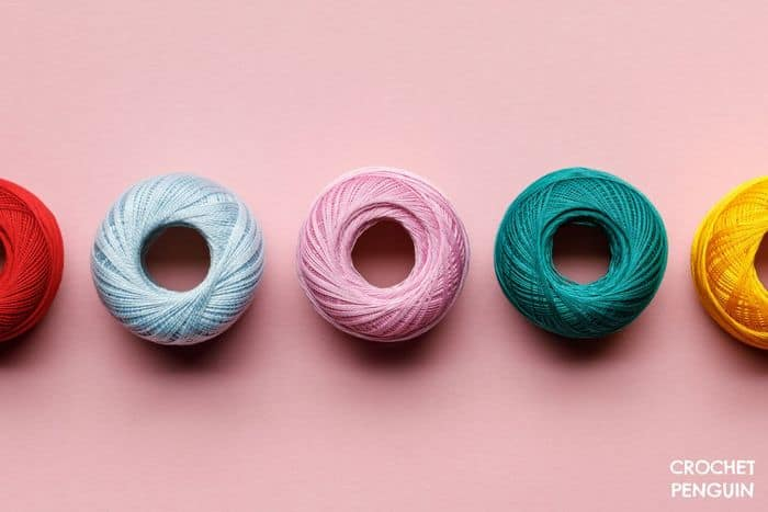 Clover Amour Crochet Hooks Pin