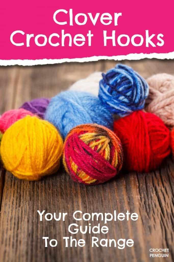 Clover Crochet Hooks Pin