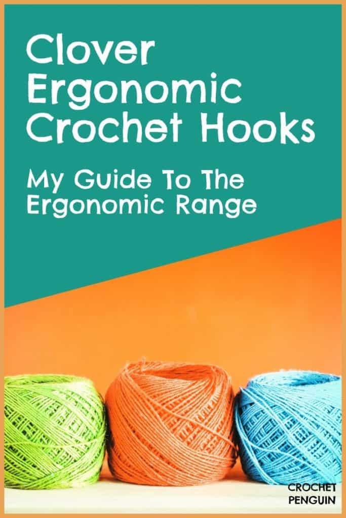 Ergonomic Crochet Hooks Clover