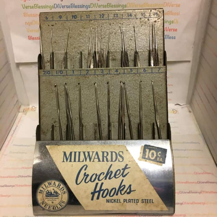 Milwards Crochet Hooks at Di Vintage Blessings Etsy store