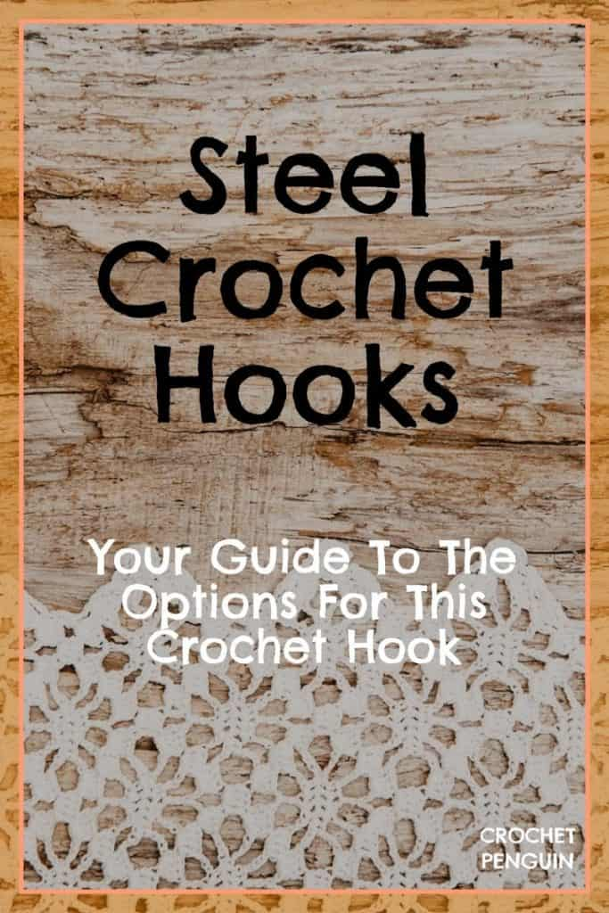 Steel Crochet Hooks Guide on Crochet Penguin PIN