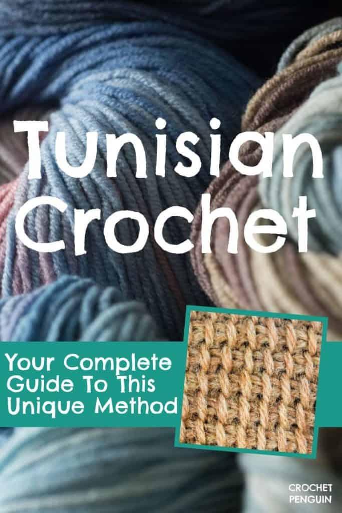Tunisian Crochet Pin