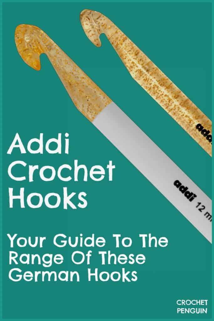 Addi Crochet Hooks Pin