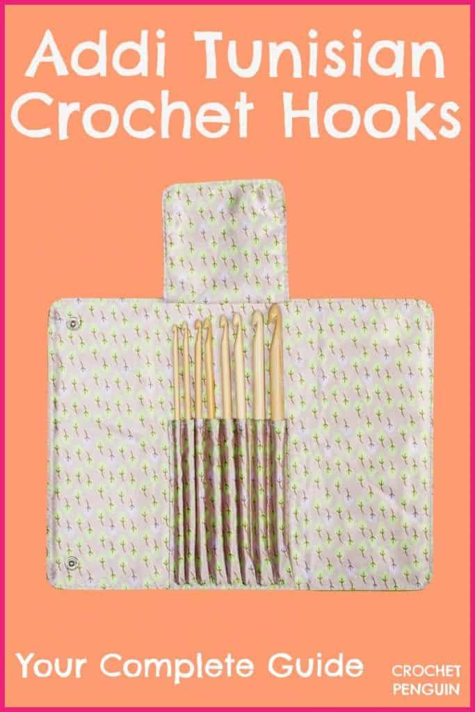 Addi Tunisian Crochet Hooks Pin