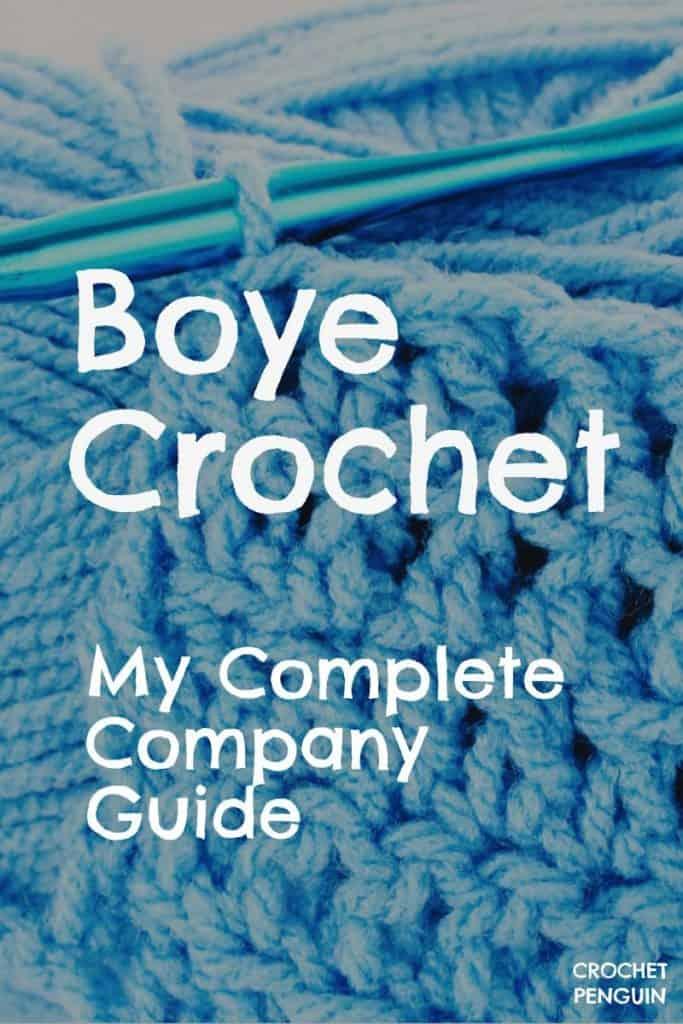Boye Crochet PIN