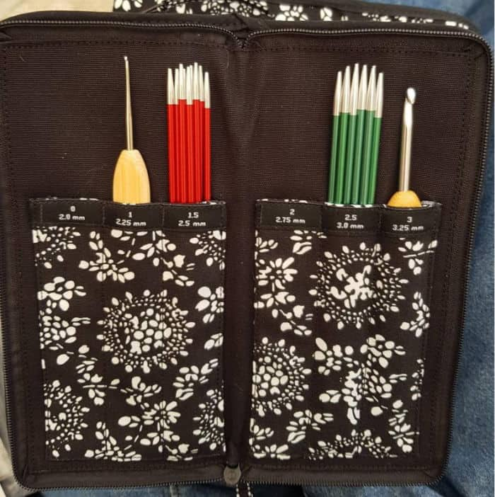 Chiaogoo Crochet Hook Case Crafty Rhino48 Etsy store