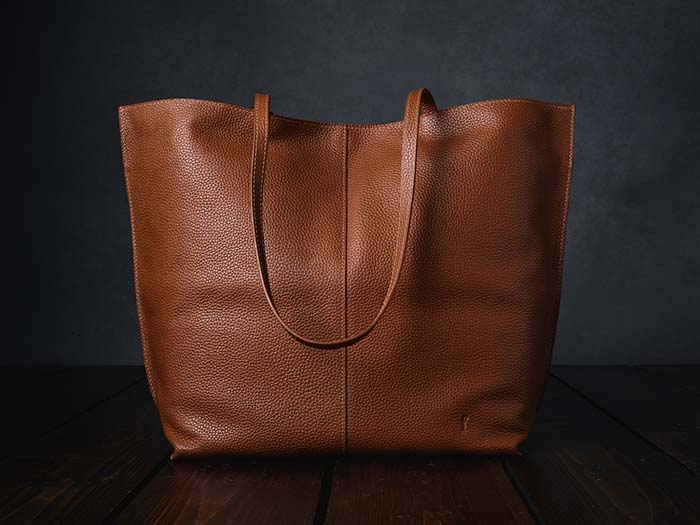 Furls Leather Tote Project Bag