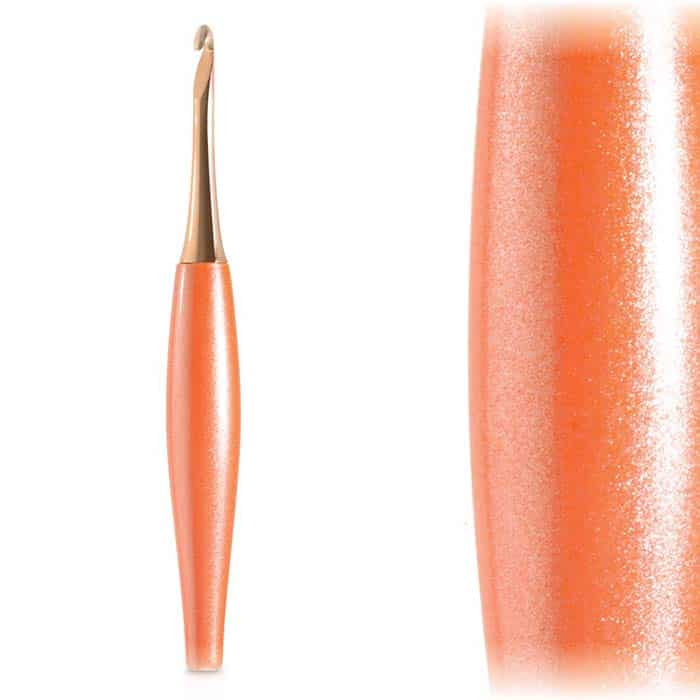 Peach & Rose Gold Odyssey Crochet Hook