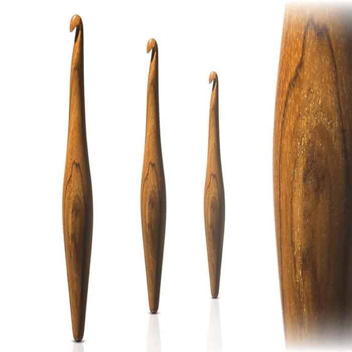 Furls Streamline Teak Crochet Hook