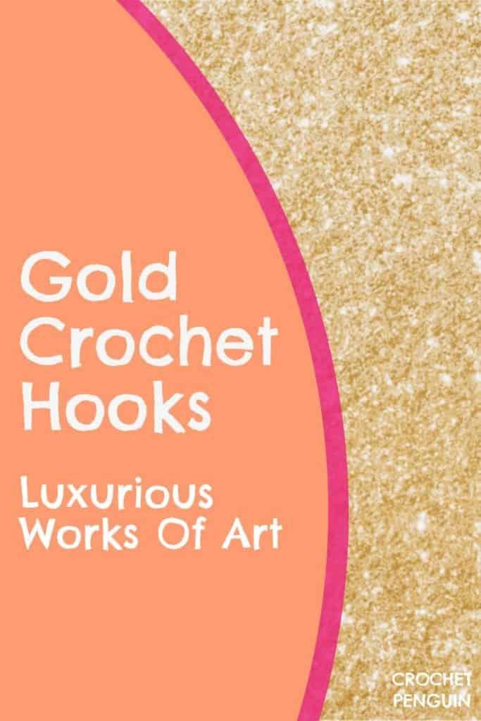 Gold Hooks For Crochet Pin