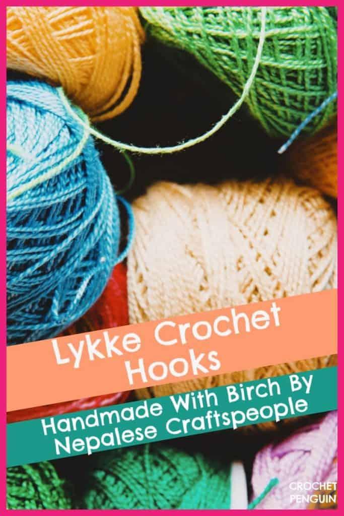 Lykke Crochet Hooks Pin
