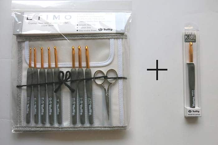 Tulip Etimo Crochet Hooks Grey Set Hello We Craft Etsy Store