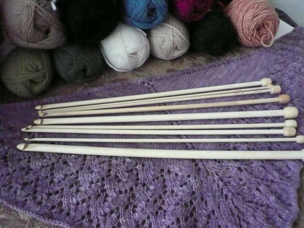 Tunisian Afghan Crochet Hook Moso Bamboo Mimis Needle Basket Etsy Store