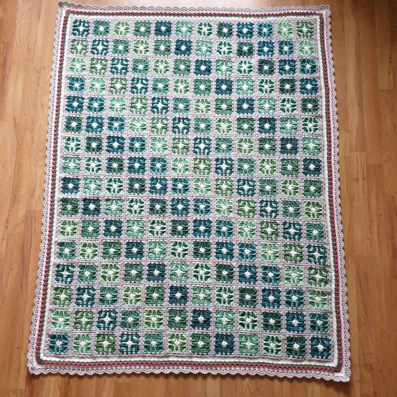 Vibrant Butterfly Blanket Pattern by Marie ByMizman