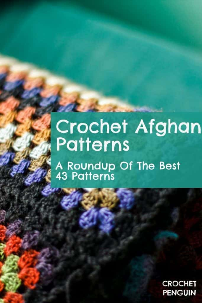 Crochet Afghan Patterns Pin