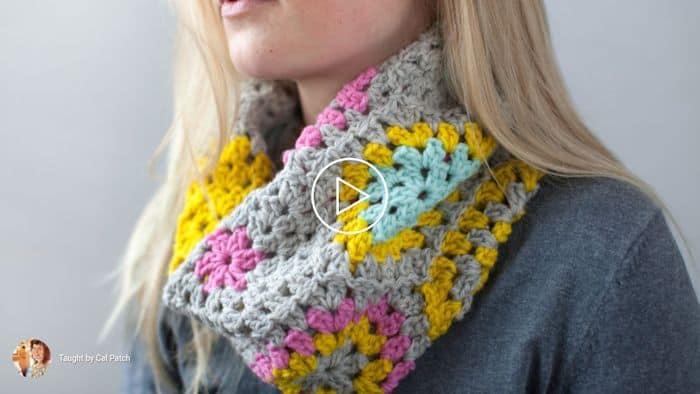 Crochet Hexi Cowl By Cal Patch - CreativeBug