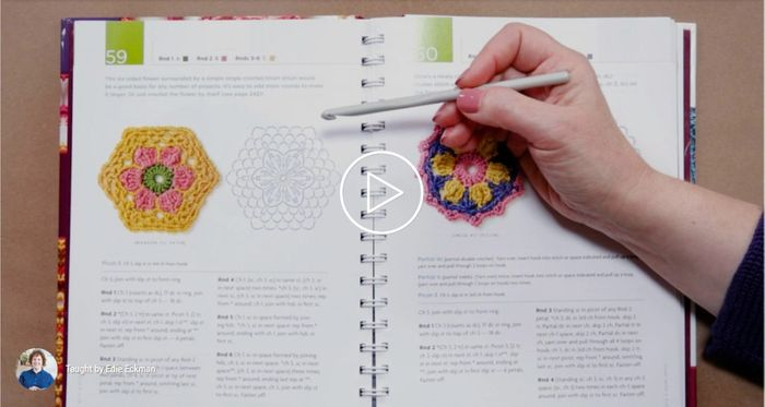 How to Read a Crochet Pattern By Edie Eckman - CreativeBug